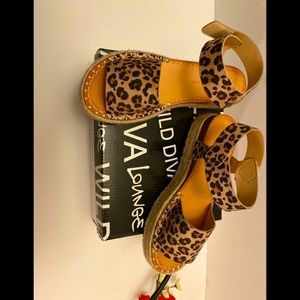 Wild Diva lounge Shoes Leopard Print  Sandals